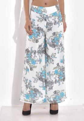 Rigoglioso Regular Fit Women's Blue Trousers