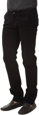 Club Fox Regular Fit Men's Black Trousers