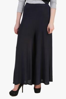 Modattire Regular Fit Women's Dark Blue Trousers