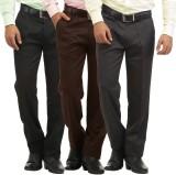 Inspire Slim Fit Men's Black, Brown, Gre...
