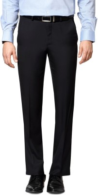 Van Heusen Regular Fit Men's Blue Trousers