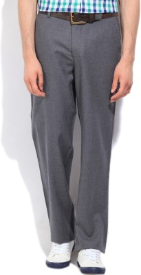 Nautica Regular Fit Men's Grey Trousers