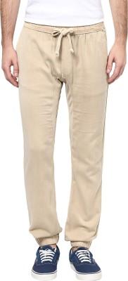 Wear your mind Regular Fit Men's Beige Trousers