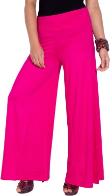 I-Vastra Regular Fit Women's Pink Trousers