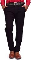 British Terminal Skinny Fit Mens Black Trousers