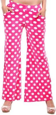 Clotone Regular Fit Women's Pink Trousers