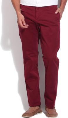 Gant Regular Fit Men's Red Trousers