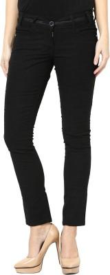 Species Slim Fit Women's Black Trousers