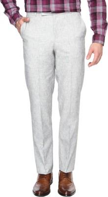 British Club Slim Fit Men's Grey Trousers
