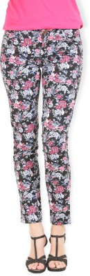 Max Skinny Fit Women's Multicolor Trousers