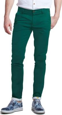 Specimen Slim Fit Men's Green Trousers