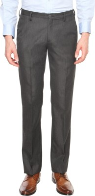 Arrow Newyork Slim Fit Men's Black Trousers