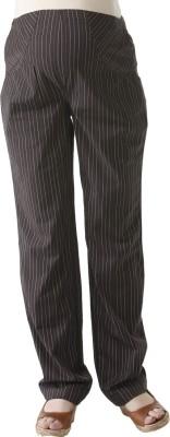 Morph Maternity Regular Fit Women's Brown Trousers