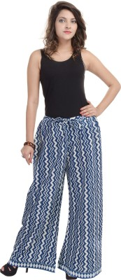 BANNO Regular Fit Women's Blue Trousers