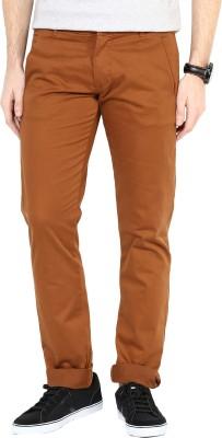 3Concept Slim Fit Men's Orange Trousers