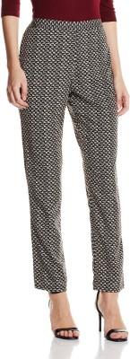 Atayant Regular Fit Women's Grey, Black Trousers