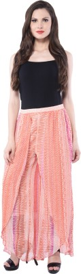 Trendy Divva Regular Fit Women's Pink Trousers
