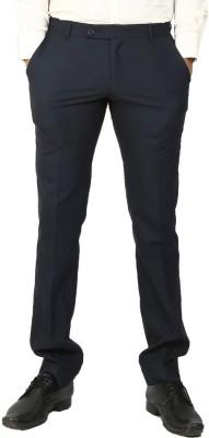Follow Up Regular Fit Men's Dark Blue Trousers