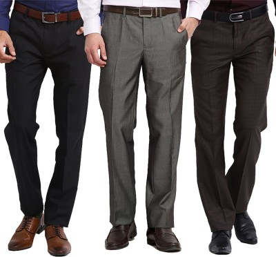 Marco USA Regular Fit Men's Multicolor Trousers