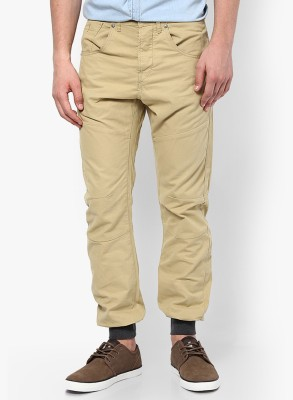 Jack & Jones Regular Fit Men's Beige Trousers
