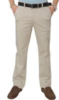 Klix Regular Fit Mens Gold Trousers