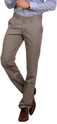 Bottoms Slim Fit Men's Grey Trousers