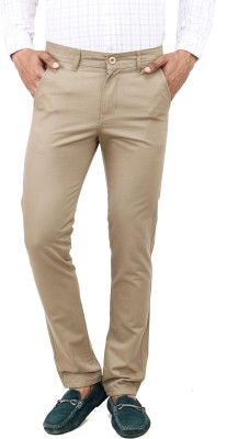 Uber Urban Slim Fit Men's Silver Trousers