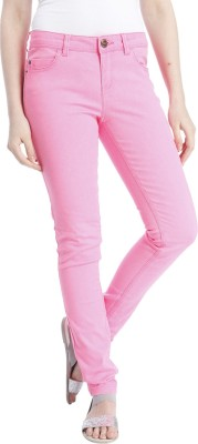 Only Regular Fit Women's Red Trousers