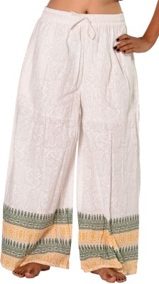 SBS Regular Fit Women's White Trousers