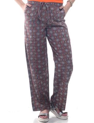 Lyla Regular Fit Women's Black, Brown Trousers