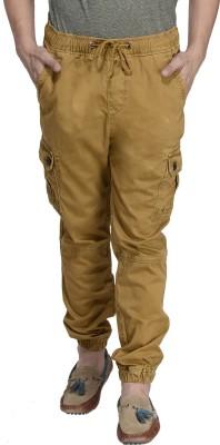 MONTEIL & MUNERO Regular Fit Men,s Beige Trousers