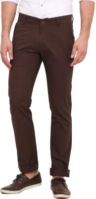 Dais Slim Fit Men's Dark Green Trousers