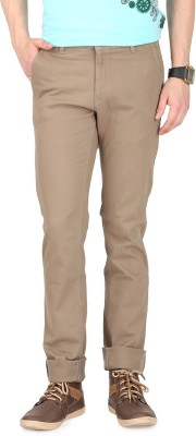 FR Slim Fit Men's Cream Trousers