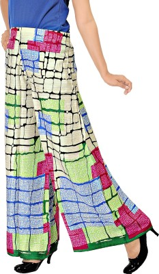 Khushali Regular Fit Women's Beige, Multicolor Trousers