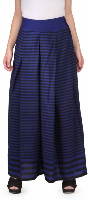 Natty India Regular Fit Women's Blue Trousers
