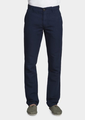 Bhane Regular Fit Men's Dark Blue Trousers