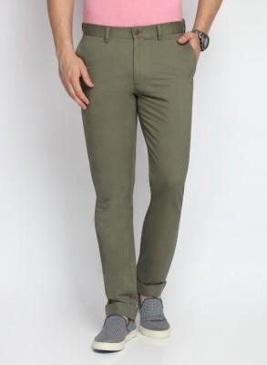 SUITLTD Slim Fit Men's Green Trousers