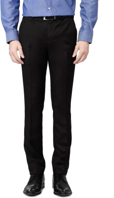 Van Heusen Skinny Fit Men's Black Trousers
