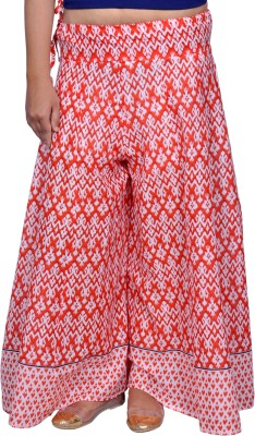Chidiyadesigns Regular Fit Women's Red Trousers