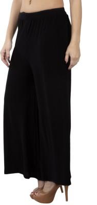 GUDS Regular Fit Women's Black Trousers