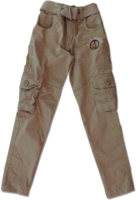 Vio Regular Fit Boy's Beige Trousers