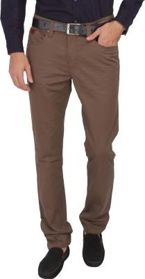 Being Human Skinny Fit Men's Brown Trousers