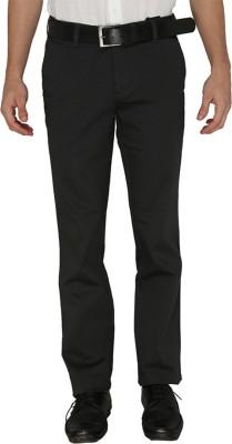 Greenfibre Slim Fit Men's Grey Trousers