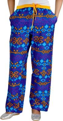 Jhoomar Regular Fit Women's Purple Trousers