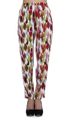 Zaivaa Regular Fit Women's Purple Trousers