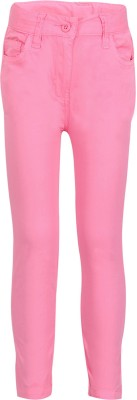 Tickles By Inmark Slim Fit Girl's Pink Trousers