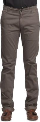 Beevee Regular Fit Men,s Dark Green Trousers