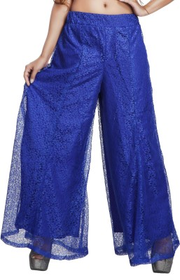 Comix Regular Fit Womens Blue Trousers