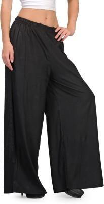 Adyana Regular Fit Women's Black Trousers