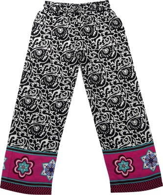 Hunny Bunny Regular Fit Girl's Pink Trousers
